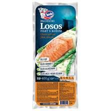Ledo Pacifički losos filet s kožom 400 g