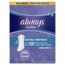 Always Dailies Extra Protect Dnevni higijenski ulošci large 52/1