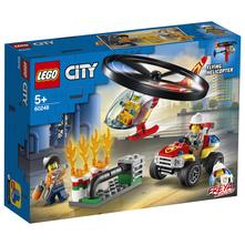 Lego Vatrogasni helikopter na djelu