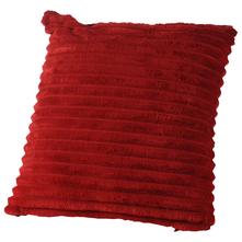 Jastuk ukrasni od samta crveni 40x40 cm
