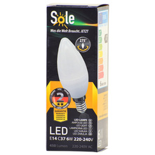 Sole LED žarulja 6W E14