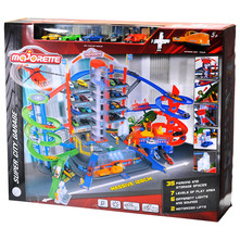 Majorette Super city garaža+ 7 vozila