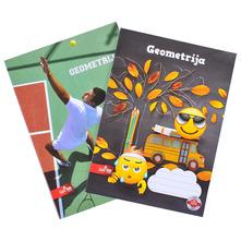 Bilježnica Geometrija razni motivi