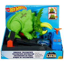 Hot Wheels Triceratops set