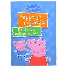 Peppa Pig Knjižica s naljepnicama-Peppa je najbolja