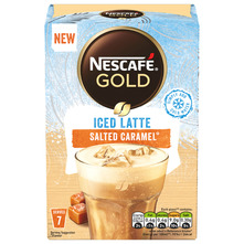 Nescafe Gold Cappuccino Iced Latte salted caramel 101,5 g