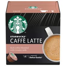 Starbucks Caffé Latte by Nescafe Dolce Gusto kava, 12 kapsula, 121,2 g