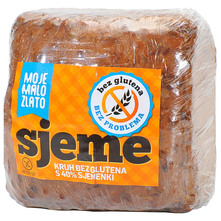 Moje Malo Zlato Kruh s 40% sjemenki bez glutena 400 g