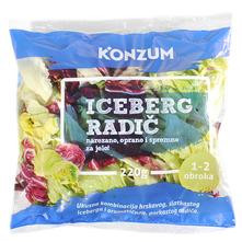 Salata iceberg radič 220 g