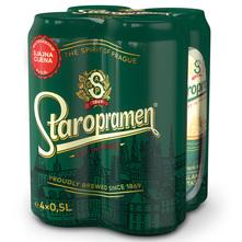 Staropramen Svijetlo pivo 4x0,5 l