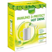 Naturel Immuno 3-Protect Hot drink granule 10x5 g