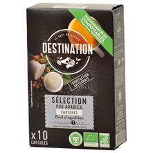 Destination Selection Arabica Eko kava, 10 kapsula, 55 g