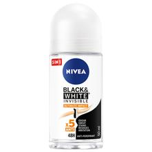 Nivea Black&White Invisible Roll-on 50 ml