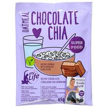 My Life Zobena kaša čokolada i chia sjemenke 65 g