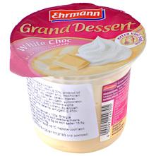 Ehrmann Grand Dessert bijela čokolada s vrhnjem 190 g