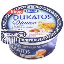 Dukatos Divine grčki tip jogurta komadići biskvita i badema 150 g