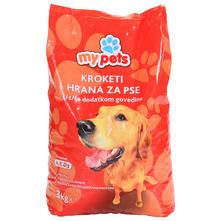 My pets Kroketi za pse govedina 3 kg