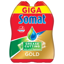 Somat Gold Gel grease cutting 2x990 ml