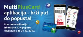 Uz MultiPlusCard aplikaciju svi popusti su uvijek s tobom!