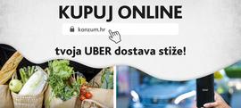 Kupuj online, tvoja UBER dostava stiže!
