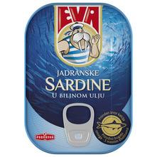 Eva Jadranske sardine u biljnom ulju 81 g