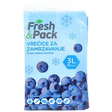 Fresh&Pack Vrećice za zamrzavanje 3 l 38/1