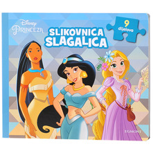 Disney Princeza Slikovnica-slagalica