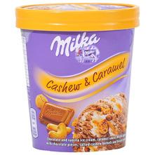 Milka Sladoled cashew&caramel 480 ml