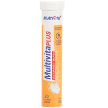 Multivita Plus Šumeće tablete naranča i mango 80 g