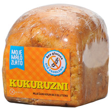 Moje Malo Zlato Kukuruzni miješani kruh bez glutena 360 g