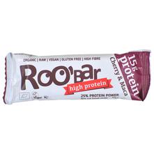 Roobar High Protein Pločica cherry&maca 60 g