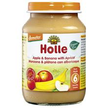 Holle Kašica od jabuke, banane i marelice eko 190 g