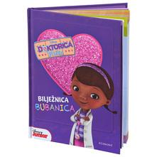 Disney Doktorica Pliško Bilježnica bubanica
