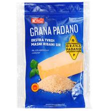 K Plus Grana Padano Ekstra tvrdi ribani sir 100 g