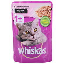 Whiskas Hrana za mačke losos u umaku 100 g