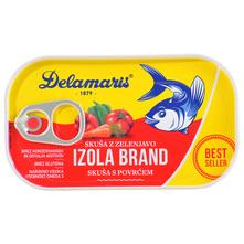 Delamaris Izola Brand Skuša s povrćem 125 g
