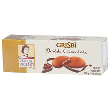 Grisbi Keksi double chocolate 150 g