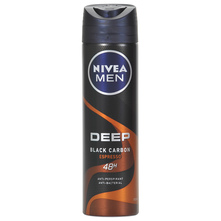 Nivea Men Deep black carbon espresso dezodorans 150 ml
