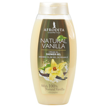 Afrodita Gel za tuširanje natural vanilla 250 ml