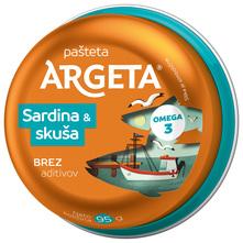 Argeta Pašteta skuša i sardina 95 g