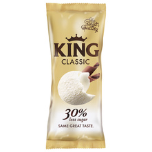 King Classic Sladoled 30% less sugar 110 ml