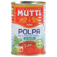 Mutti Pulpa od rajčice s bosiljkom 400 g