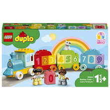 Lego Vlakić s brojevima-nauči brojiti