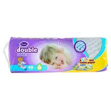 Violeta Double Care Air Dry Pelene, veličina 6+ (Junior) 16+ kg 48/1