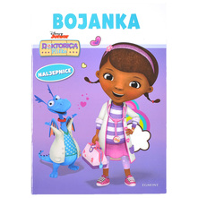 Disney Doktorica Pliško Bojanka s naljepnicama