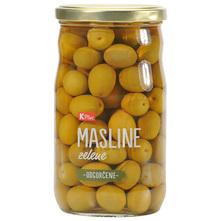 K Plus Masline zelene odgorčene 400 g