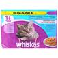 Whiskas Hrana za mačke izbor ribe 4x100 g