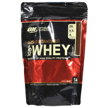 Optimum Nutrition Gold Standard 100% Whey Prah double rich chocolate 450 g