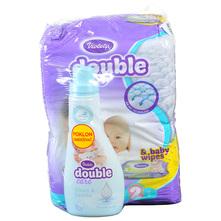 Violeta Double Care Air Dry Pelene, veličina 2 (Mini) 3-6 kg 76/1+poklon omekšivač i vlažne maramice