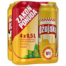 Ožujsko Svijetlo pivo 4x0,5 l